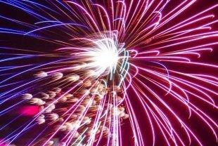 Видео дня: как выглядит фейерверк в эпицентре