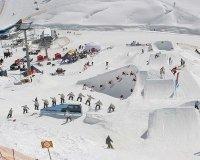 В ГЛЦ «Солнечная долина» откроют сноуборд-парк