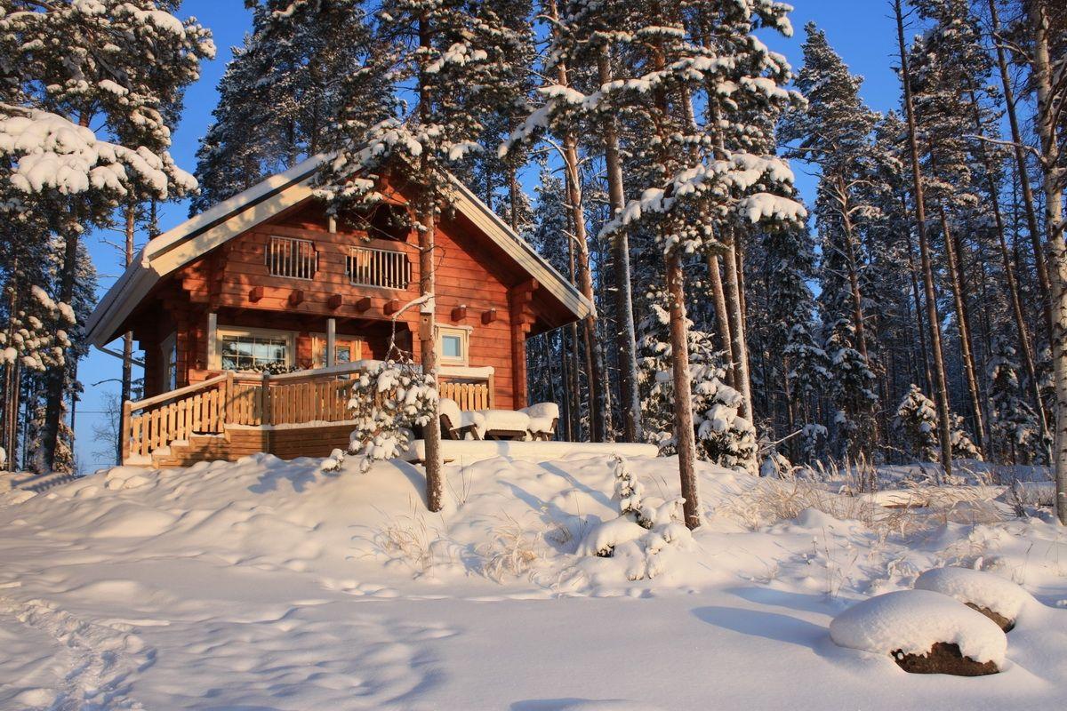 Снять дом новый год карелия