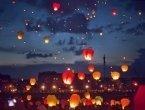 Парад небесных фонариков