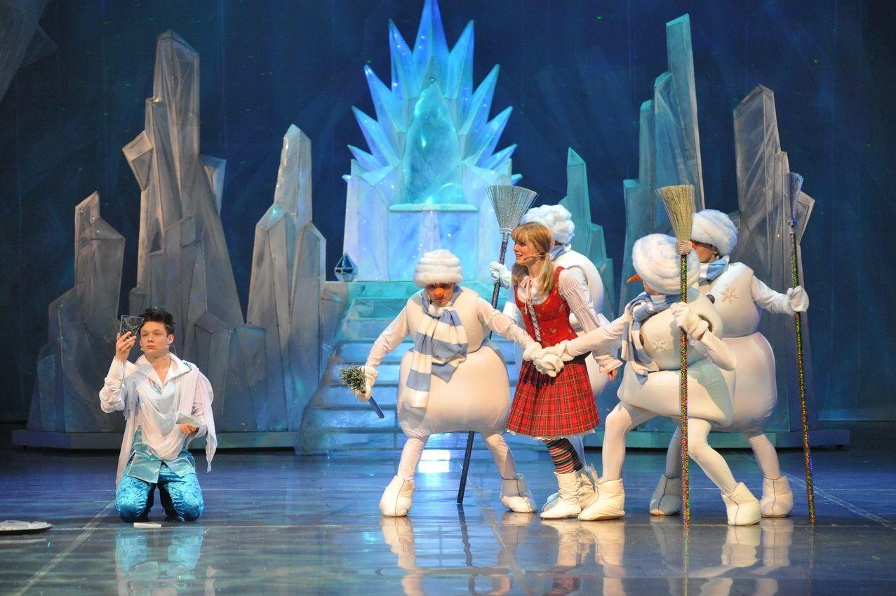 Пьеса снежная королева сценарий