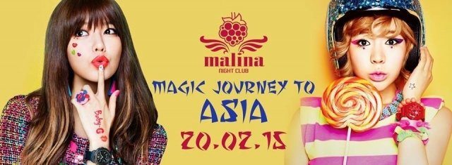 Magic Journey to Asian @ Malina