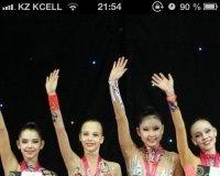Карагандинка завоевала бронзовую медаль Международного турнира по художественной гимнастике.