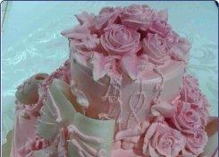 "Свадебный торт кафе-бара ""Баклажан"""