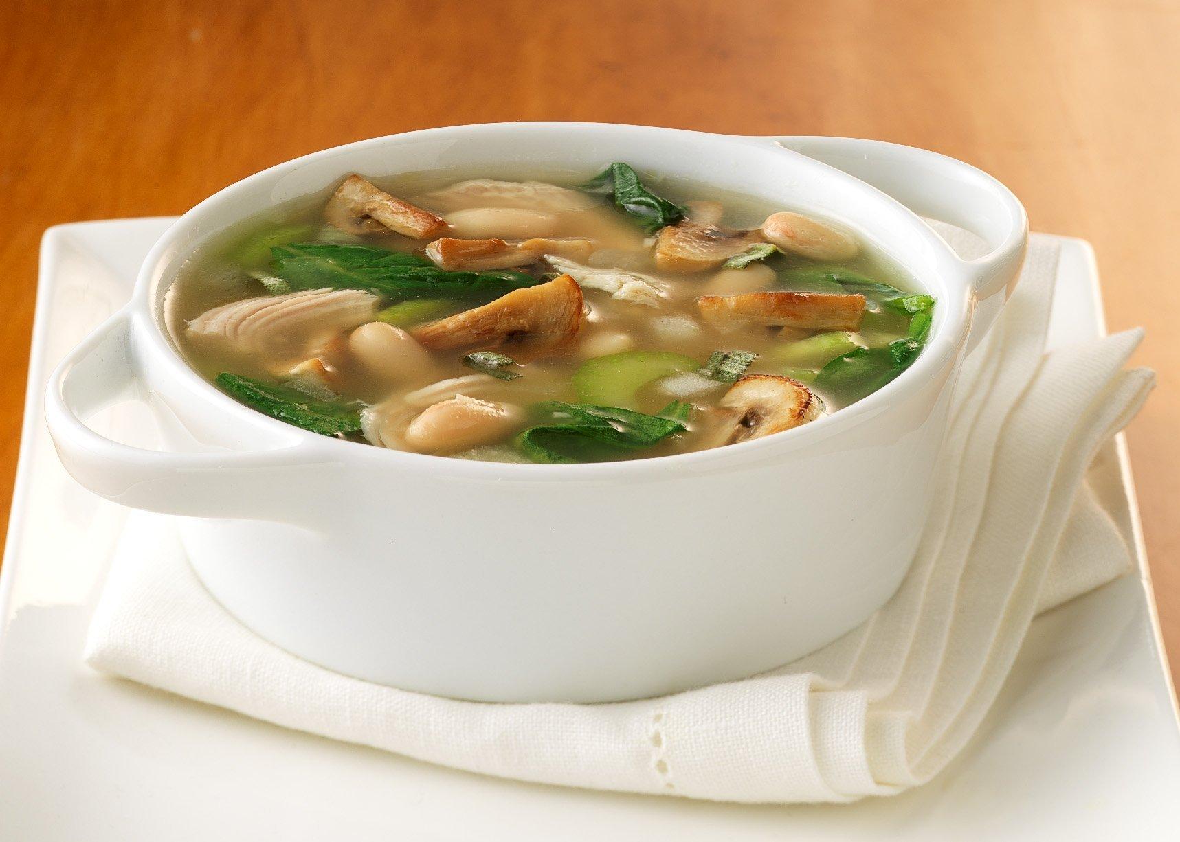 Солянка с сушеными грибами рецепт пошагово