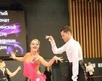 Карагандинская пара стала первой на Чемпионате области по спортивным танцам.