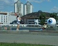 В центре Екатеринбурга появился пугающий арт-объект