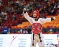 Сборная России получила первую медаль на Чемпионате мира по тхэквондо в Челябинске