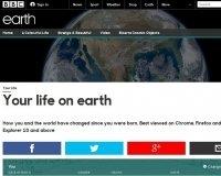 BBC запустили сервис, показывающий, как изменился мир с вашего рождения