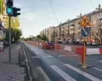 Улицу Энтузиастов перекрыли на все лето
