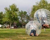 Актуальное нынче развлечение в Караганде – бампербол
