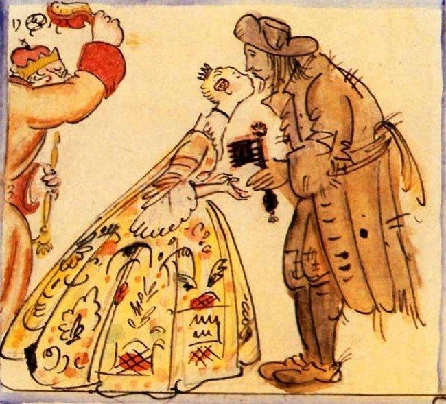 Какое качество подарков от принца свинопаса рассердило принцессу 74