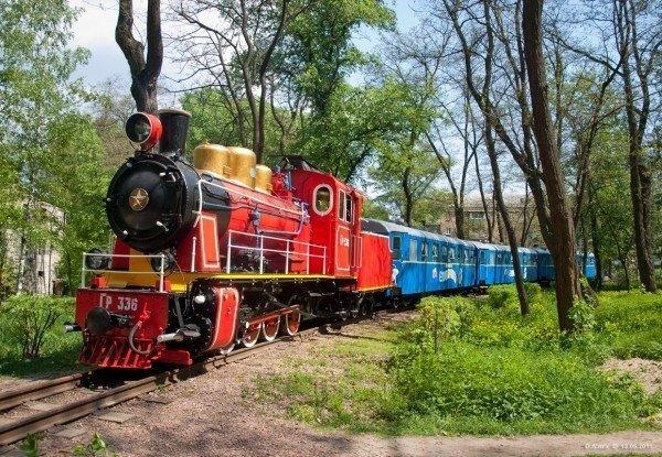 Достопримечательности Тюмени: Тюменская детская железная дорога