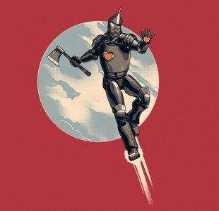 Видео дня: Железный Дровосек в роли Альтрона из «Мстителей»