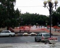 В пятницу возле филармонии состоится открытие фонтана