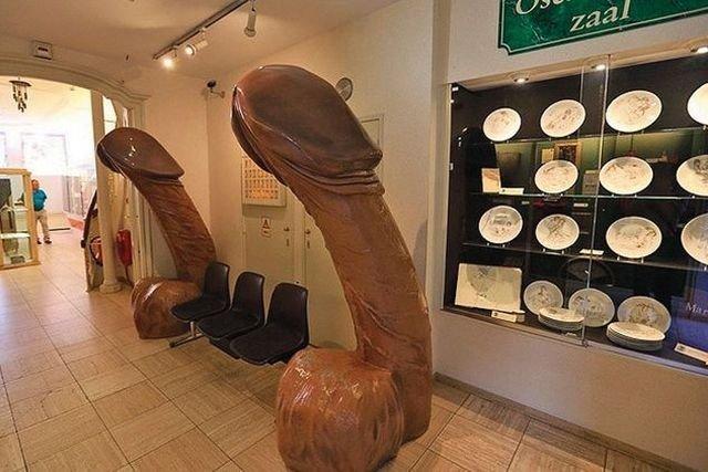 Публичный секс в музее
