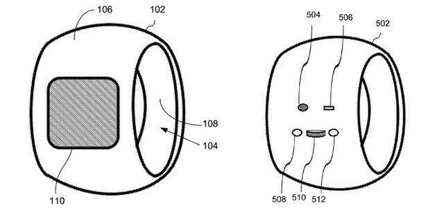 Apple патентует умное кольцо