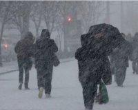 Казань настигнут метели и мокрый снег