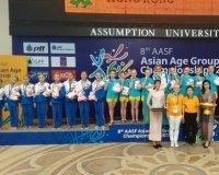 Карагандинские спортсменки  завоевали 11 медалей на чемпионате Азии по водным видам спорта
