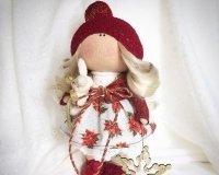 Тюменцев научат мастерить новогодних интерьерных кукол