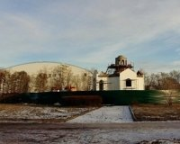 В Зеленой роще на месте клумбы строится храм Ильи Муромца